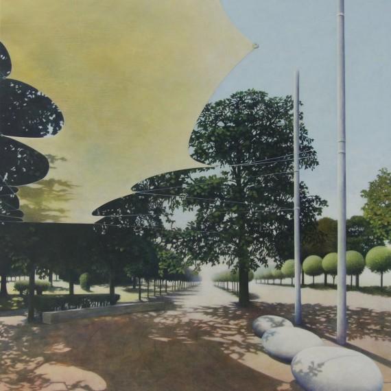Marcel van Hoef foto binnenzijde Park 150 x 130 cm. 2017 ..