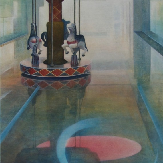 Hall of mirrors 65 x 150 cm